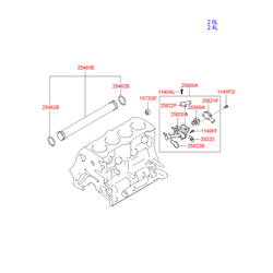 Термостат (Hyundai-KIA) 2550038001