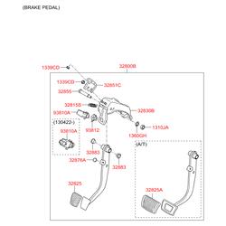 Главный цилиндр сцепления (Hyundai-KIA) 416053S000