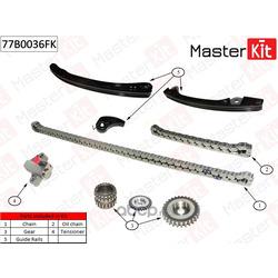 Комплект цепи ГРМ (MasterKit) 77B0036FK