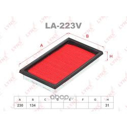 Фильтр воздушный (LYNXauto) LA223V