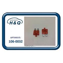 Предохранитель флажковый стандартный 10a с индикатором (H&Q) 1060032