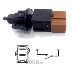 Выключатель фонаря сигнала торможения (Hoffer) 3500109