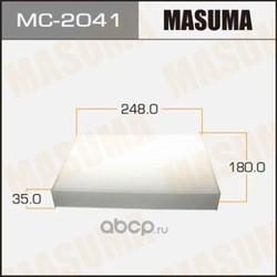 Фильтр салона (Masuma) MC2041