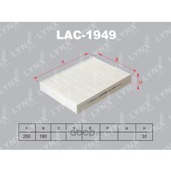 Фильтр салонный (LYNXauto) LAC1949