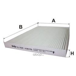 Фильтр салонный (M-Filter) K9076