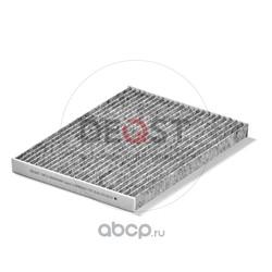 Фильтр салонный угольный (DEQST) 10FCC00004000