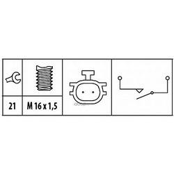 Выключатель, фара заднего хода (HELLA) 6ZF181612061