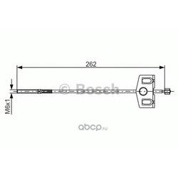 Тормозной трос (Bosch) 1987482337