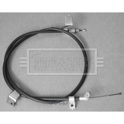 Трос, стояночная тормозная система (BORG&BECK) BKB3220