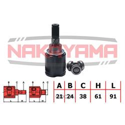 Шрус внутренний (комплект) (21x24x152x38) (NAKAYAMA) NJ7067NY
