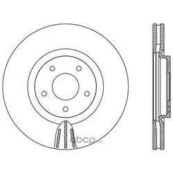 Тормозной диск (OPEN PARTS) BDR255020