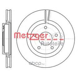 Тормозной диск (METZGER) 6108710