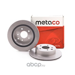 Диск тормозной задний (METACO) 3060009