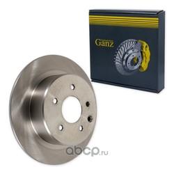 Диск тормозной задний (GANZ) GIJ06002
