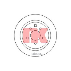Тормозной диск (Nk) 312273