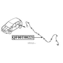 Импульсный датчик abs (QUATTRO FRENI) QF00T00221