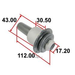 Сайлентблок подрамника задний (Tenacity) AAMNI1068