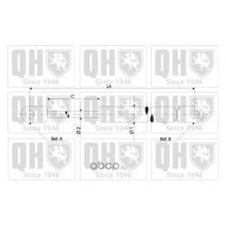 Упругий элемент, крышка багажника / помещения для груза (QUINTON HAZELL) 828218