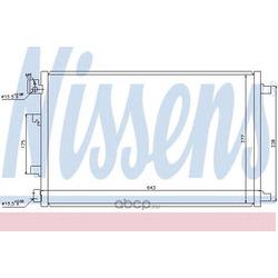 Конденсер (Nissens) 940038