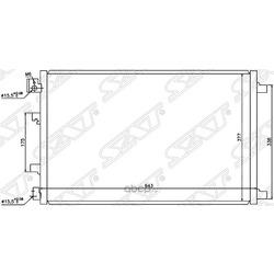 Радиатор кондиционера (Sat) STNS133940