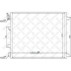 Радиатор кондиционера (Stellox) 1045484SX