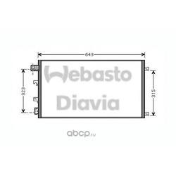 Конденсатор (WEBASTO) 82D0226263MA