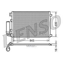 Радиатор кондиционера (Denso) DCN46002
