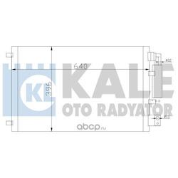 Конденсатор, кондиционер (KALE OTO RADYATOR) 388600