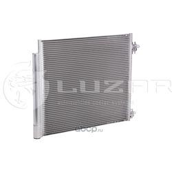 Радиатор кондиционера (конденсер) (Luzar) LRAC14EA