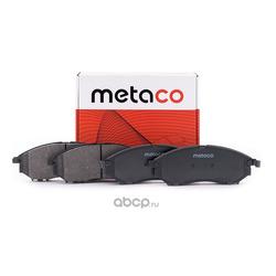 Колодки тормозные передние (комплект) (METACO) 3000019