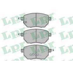Колодки тормозные дисковые (Lpr) 05P1342