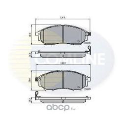 Комплект тормозных колодок, дисковый тормоз (Comline) CBP31524