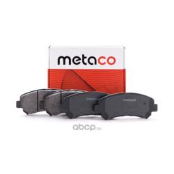 Колодки тормозные передние (комплект) (METACO) 3000008