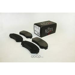 Колодки тормозные передние (KOTL) 3467KT