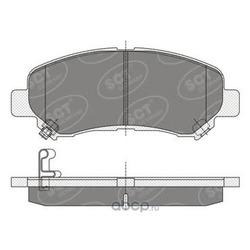 Колодки тормозные / передние (SCT) SP337