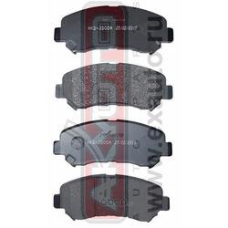 Колодки тормозные дисковые передние (AKYOTO) AKDJD00A