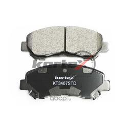 Колодки тормозные передние (KORTEX) KT3467STD