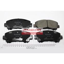 Комплект колодок для дисковых тормозов (DYNAMATRIX-KOREA) DBP4051
