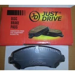 Колодки тормозные, задние (Just Drive) JBP0018
