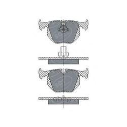 Комплект тормозных колодок, дисковый тормоз (G.U.D) GBP087601