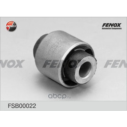 Сайлентблок заднего амортизатора (FENOX) FSB00022