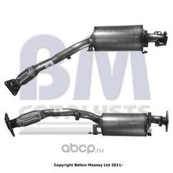Сажевый / частичный фильтр, система выхлопа отработавших газов (BM Catalysts) BM11061