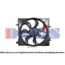 Вентилятор, охлаждение двигателя (AKS DASIS) 078097N