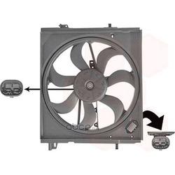 Вентилятор, охлаждение двигателя (VAN WEZEL) 3391746