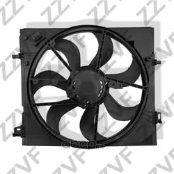 Вентилятор радиатора охлаждения в сборе (ZZVF) ZVVE007