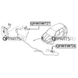 Форсунка омывателя фары (QUATTRO FRENI) QF00T00726