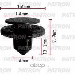 Клипса пластмассовая (PATRON) P370422