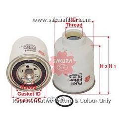 Топливный фильтр (Sakura) FC1816