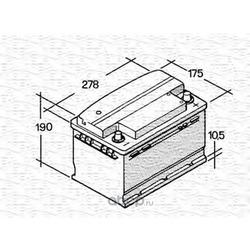Стартерная аккумуляторная батарея (MAGNETI MARELLI) 067147610003