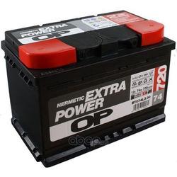 Стартерная аккумуляторная батарея (OPEN PARTS) BT074L300